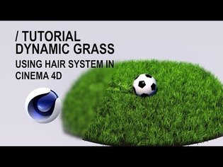 Creating Dynamic Grass using Hair System in Cinema 4D