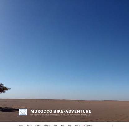 Morocco Bike-Adventure
