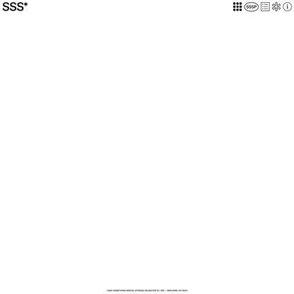 SSS* - Something Special Studios