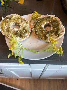 Feral fennel frond pesto