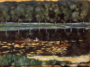Going Rowing, 1905, Pierre Bonnard