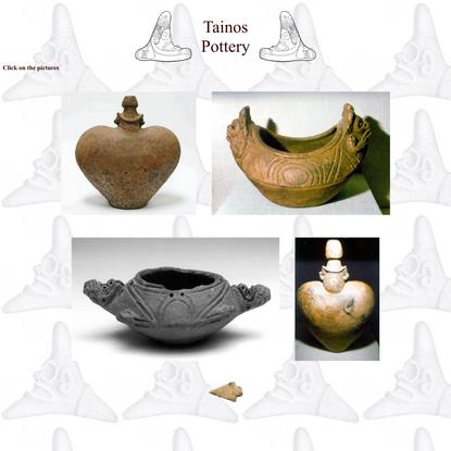 Tainos: Pottery