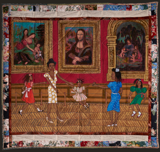 Dancing in the Louvre - Faith Ringgold