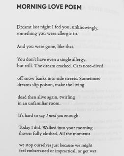 Morning Love Poem by Tara Skurtu
