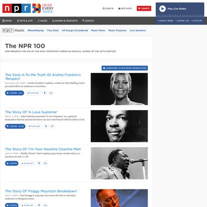 The NPR 100
