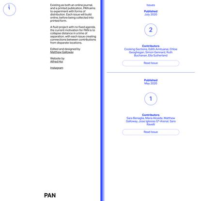 PAN Publication