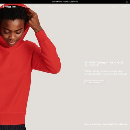 Sheep Inc. - Knitwear for a new fashion future.