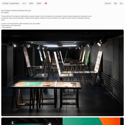 STUDIO ☄ Daniel Peter
