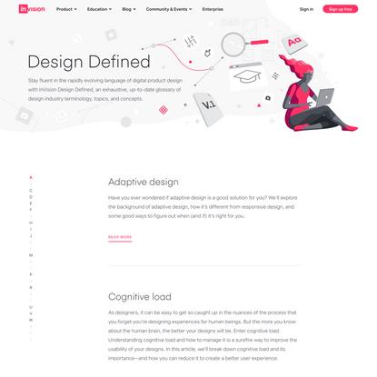 Design Glossary of Terms   Design Defined   InVision