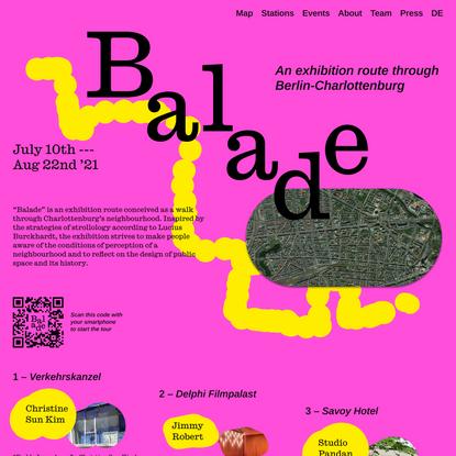 Balade Berlin-Charlottenburg