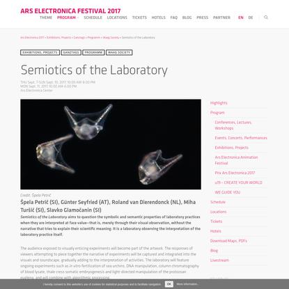 Semiotics of the Laboratory (2017)