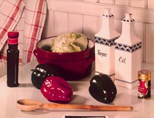 Paul Outerbridge, The Kitchen Table, 1938