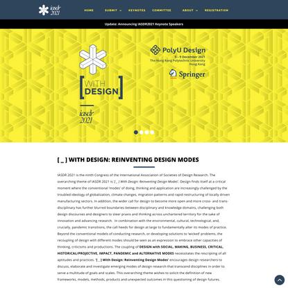 IASDR 2021 - Home