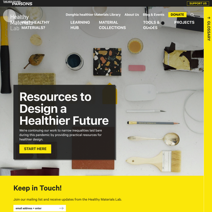 Healthy Materials Lab | The next generation of materials