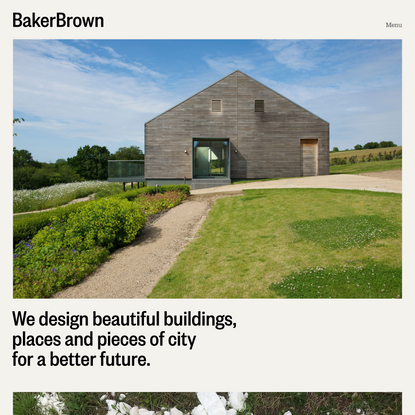 BakerBrown – Sustainable Architects and Circular Economy Consultants Near Lewes, East Sussex