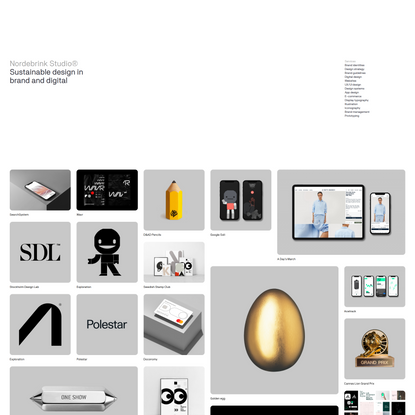 Sustainable design in brand and digital