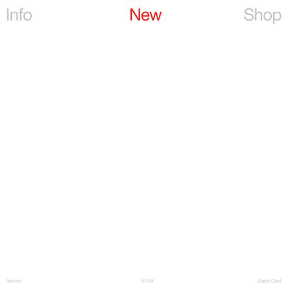 The New Company — Homepage