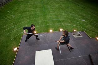 Swordfight rehearsals