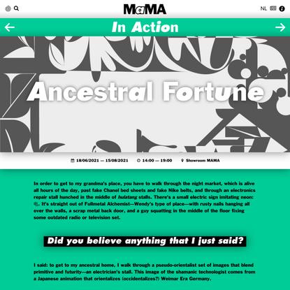 Ancestral Fortune – MAMA