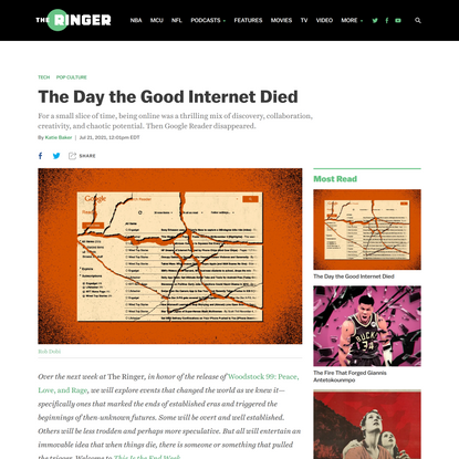 The Day the Good Internet Died