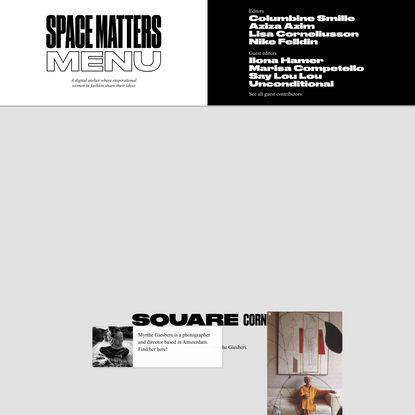 Space Matters — A library of female inspiration