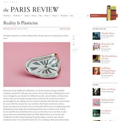 Reality Is Plasticine