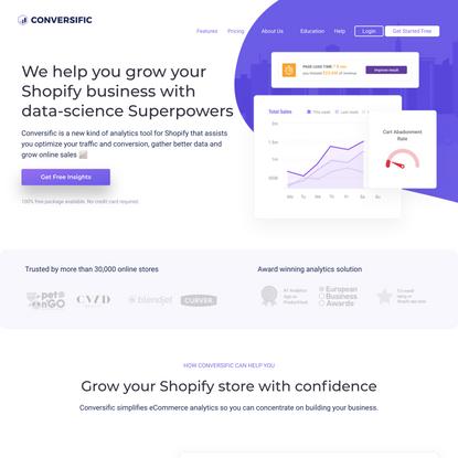 Shopify Analytics + eCommerce Analytics