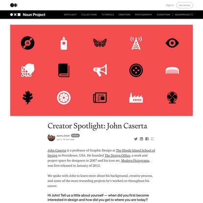 Creator Spotlight: John Caserta