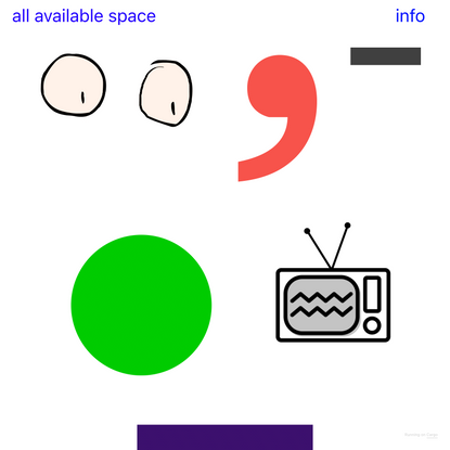 All Available Space