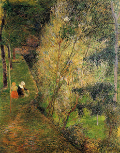 Pont-Aven woman and child, 1886, Paul Gauguin