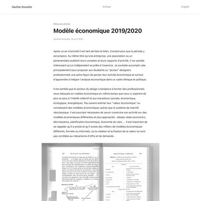 Gauthier Roussilhe – Explorer et définir le numérique à +2°C