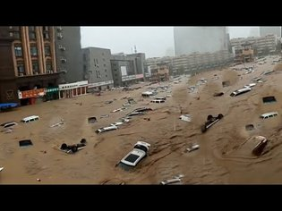 Apocalypse in China !! Worst flood in Zhengzhou history!