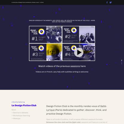 DesignFictionClub-EN — Design Fiction Club