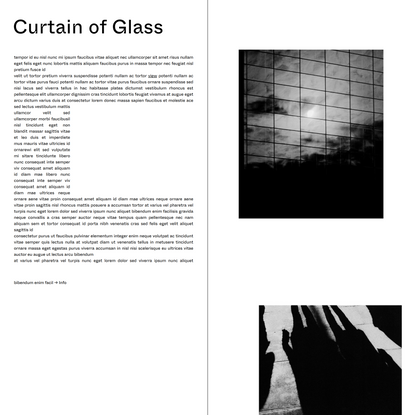 Curtain of Glass