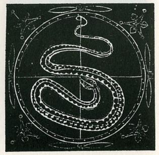 Giordano Bruno, woodcut known as Prometheus fromArticuli centum et sexaginta adversus huius tempestatis mathematicos atque philosophos,Prague1588