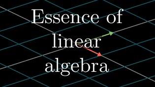 Essence of linear algebra