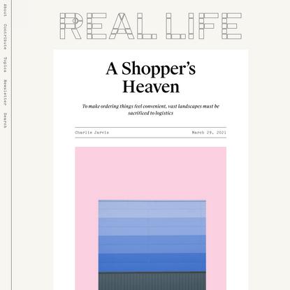 A Shopper's Heaven — Real Life