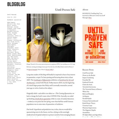 Until Proven Safe – BLDGBLOG