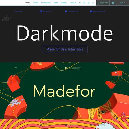 Dalton Maag | Typeface Design Studio