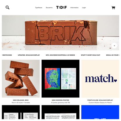The Designers Foundry   Typefaces and Fonts