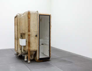 Bathroom cabin 'Nizza' by Werner Wirsing (1969)