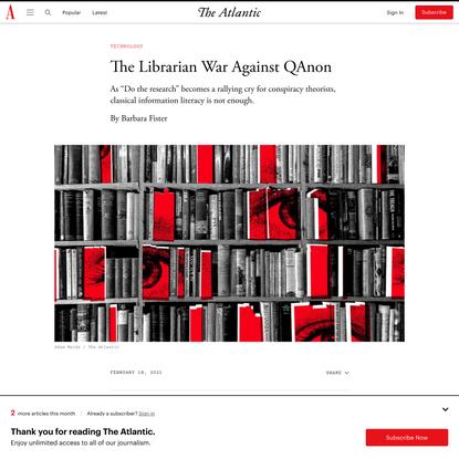The Librarian War Against QAnon