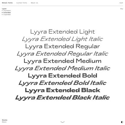 Lyyra Extended - Schick Toikka