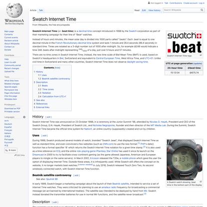 Swatch Internet Time - Wikipedia