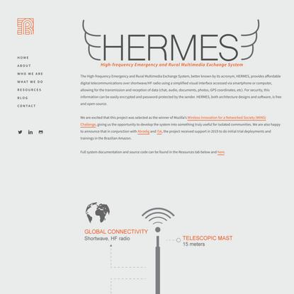 Hermes //  rhizomatica