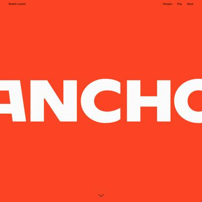 Ancho