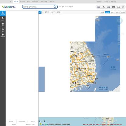 공간정보 오픈플랫폼 지도서비스