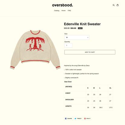 Edenville Knit Sweater