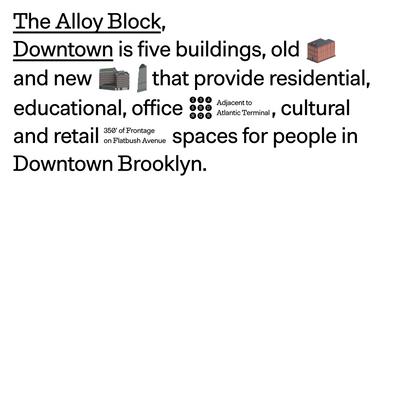 The Alloy Block