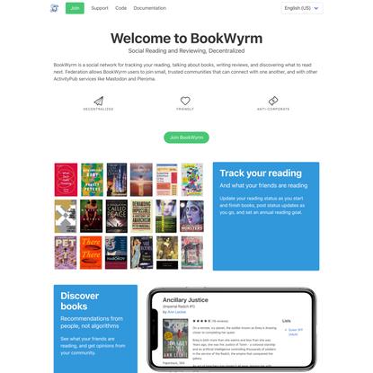 Join Bookwyrm!